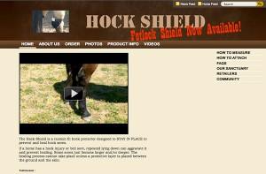Hock Shield.com Before