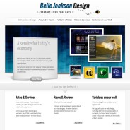 New look for Belle Jackson Design.com